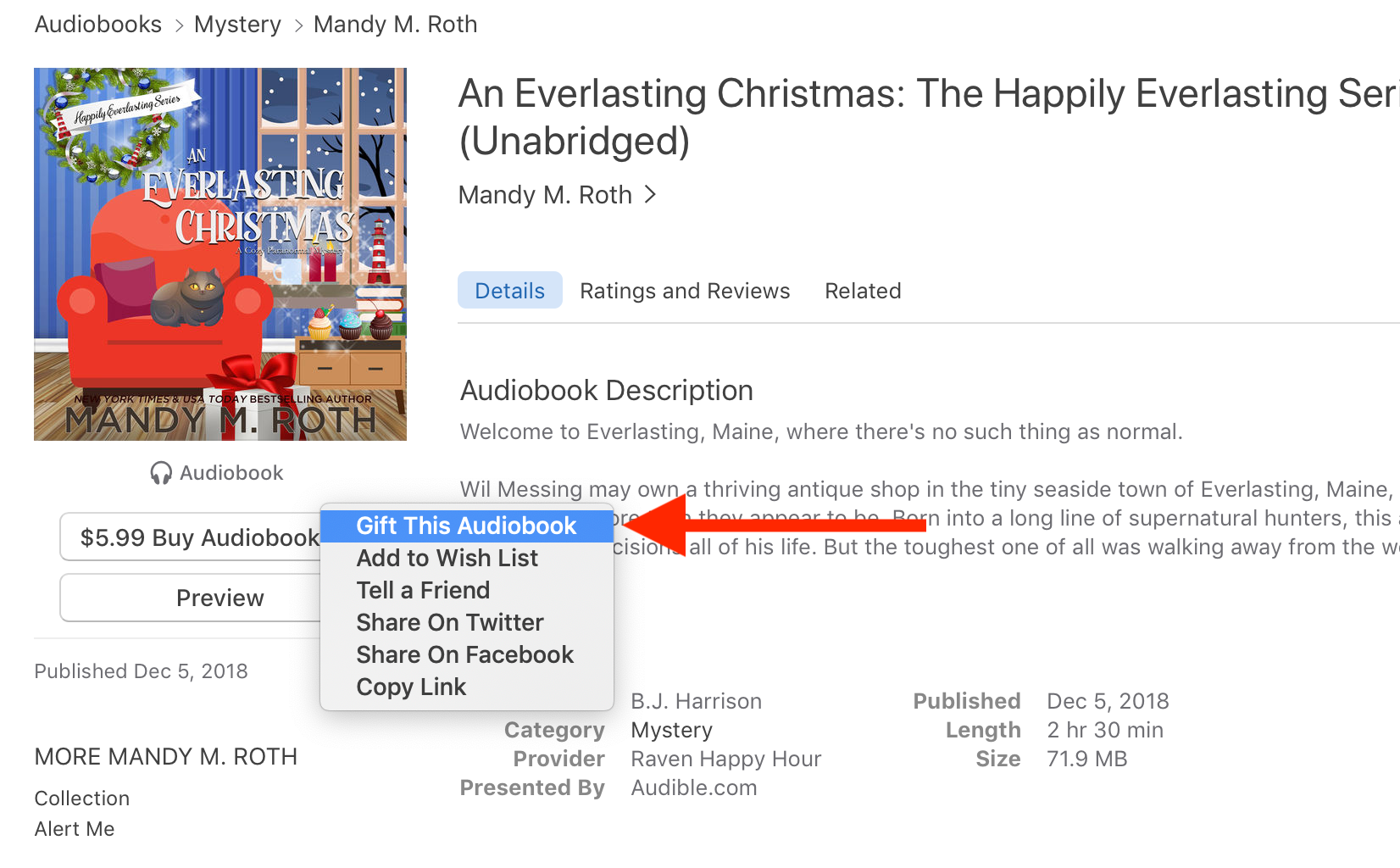 How to Gift an Audiobook